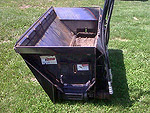 Used Mensch Side Shooter Sand Spreader